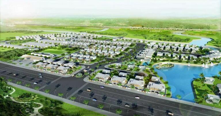 Biệt thự Lucasta Khang Điền Quận 9 - Phoi Canh