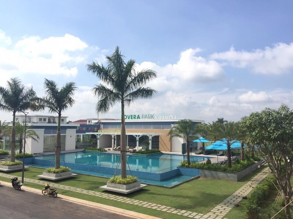 Dự án Lovera Park Khang Điền Bình Chánh - Hồ bơi nước trong xanh