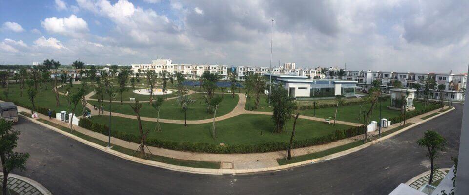 Dự án Lovera Park Khang Điền Bình Chánh - Toàn cảnh công viên