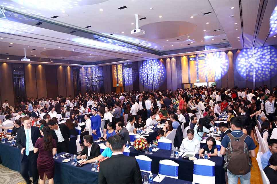 Hơn 800 quan khách tham dự sự kiện Công Bố Và Giới Thiệu Dự Án Căn Hộ Jamila