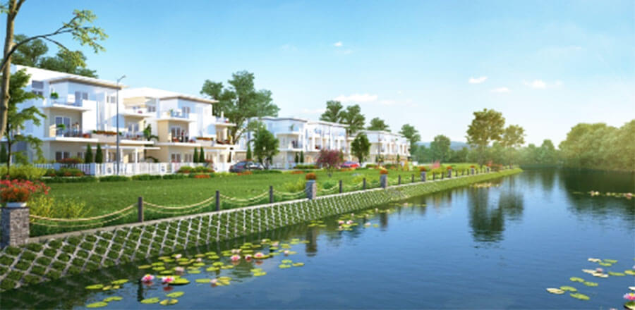 Các dự án nhà phố, Biệt thự Khang Điền