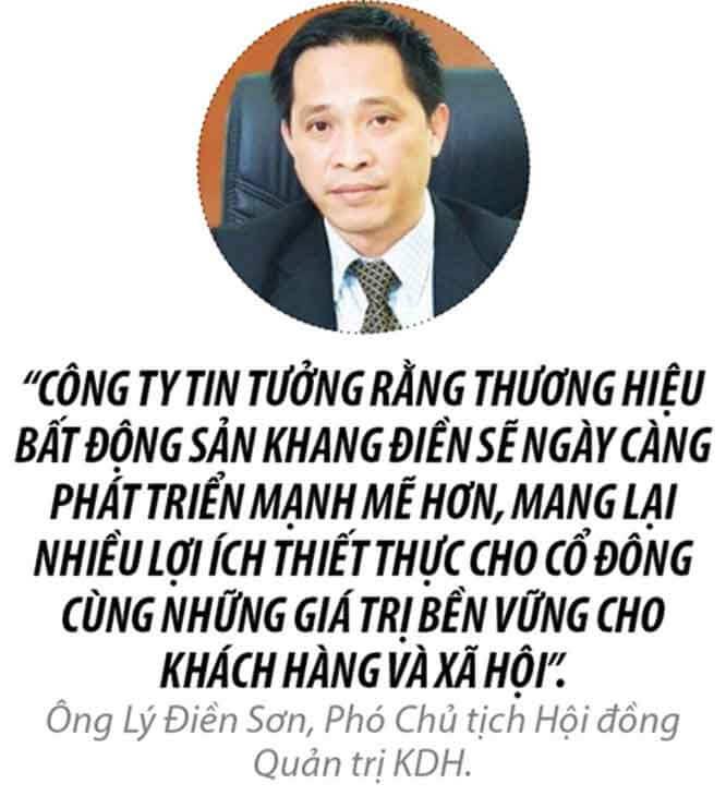 Ông Lý Điền sơn Chủ Tịch HĐQT Khang Điền