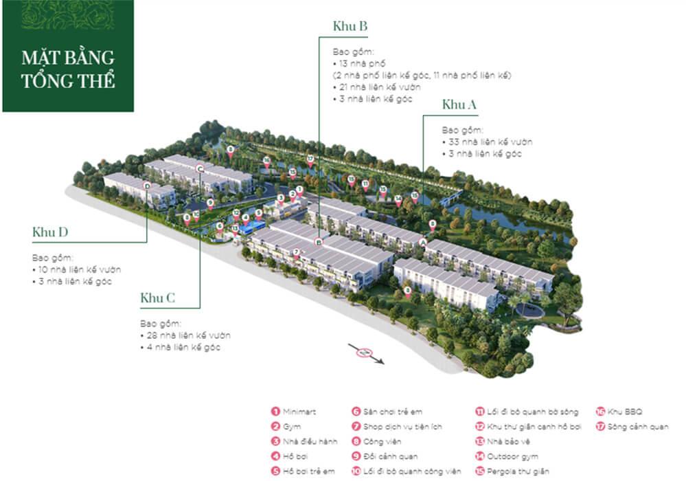 Tiện ích Dự án nhà phố Rosita Garden Khang Điền quận 9