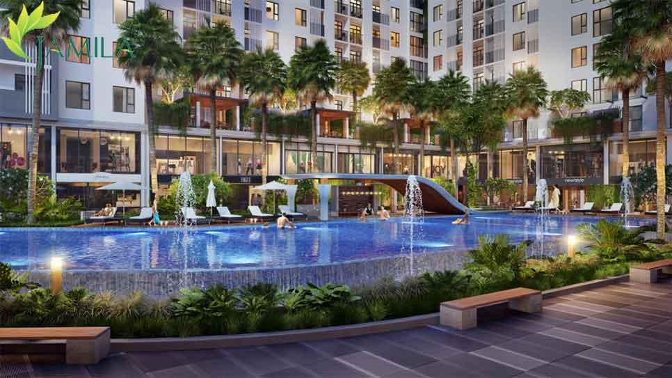 Hồ Bơi Dự án căn hộ Jamila Khang Điền quận 9