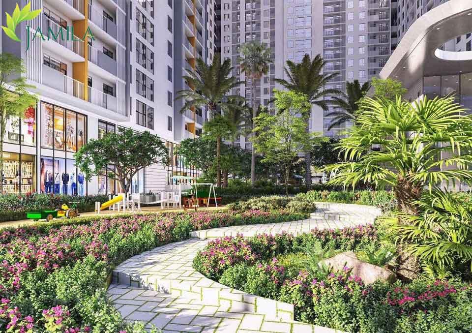 Tiện ích nội khu Dự án căn hộ Jamila Khang Điền quận 9