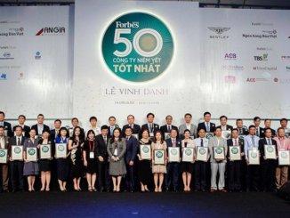 Khang Điền TOP 50 công ty nhận bằng khen tại lễ vinh danh