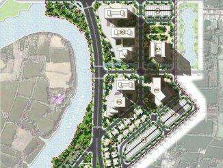 Mặt bằng Dự án Corona City Khang Điền Bình Hưng, Bình Chánh
