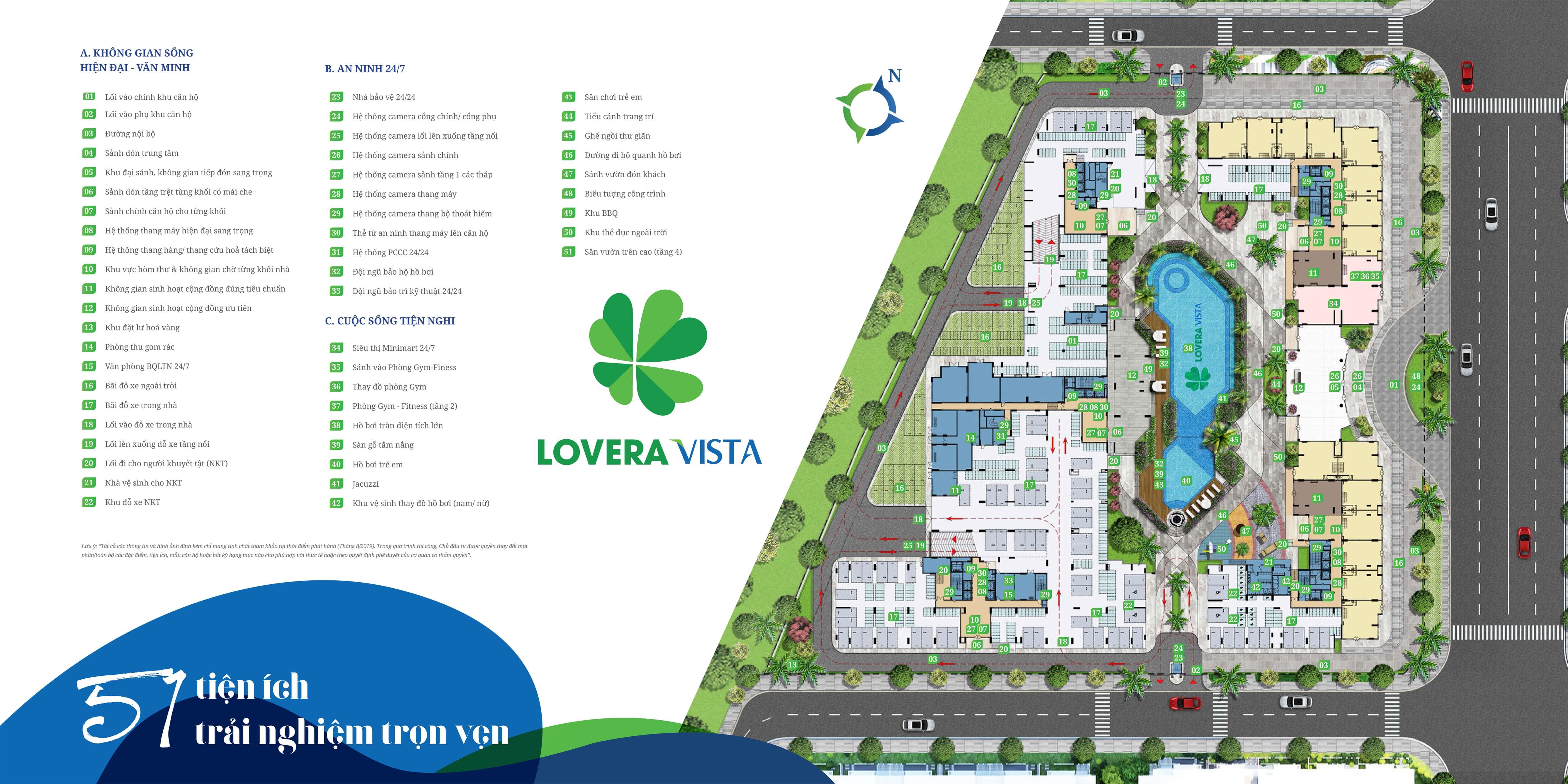 Tiện ích Lovera Vista