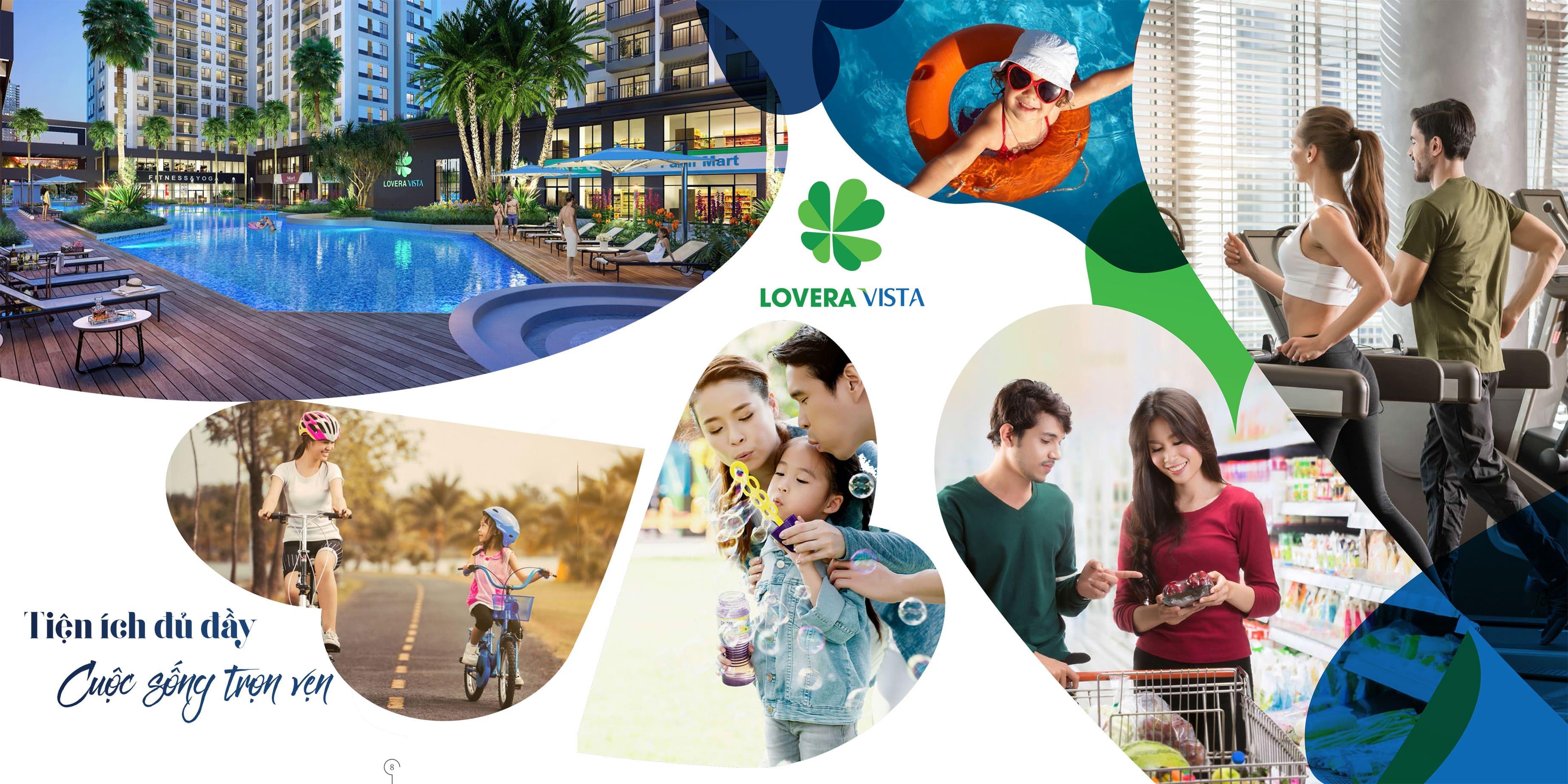 Tiện ích căn hộ Lovera Vista