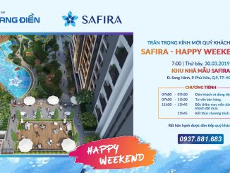 SaFira Happy Weekend Day